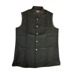Khadi Party Wear Nehru Jacket, Packaging Type: Packet