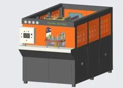 2 Cavity Automatic Stretch Blow Moulding Machine With Air Recovery System.