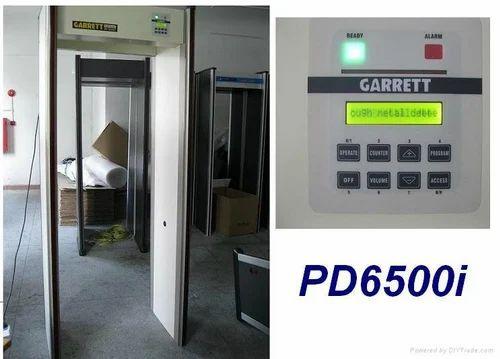 Garrett Walk Through Door Frame Metal Detector Door Pd 6500i Lcd