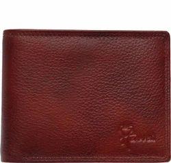 LWFM00232 Maroon Mens Leather Wallet
