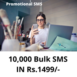 Promotional SMS, Messages Per Day: <50 Messages, Character Limit: <120 Characters