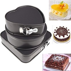 3 Pcs Cake Mould Heart