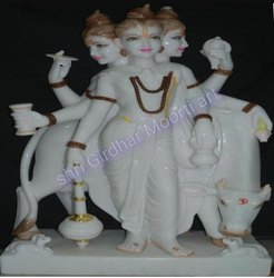 Duttatreya Marble Statues