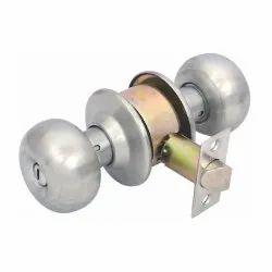 Main Door Harrison Premium Pincylindrical Lock, Size: 70mm, Silver
