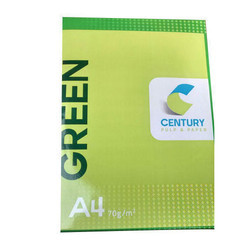 White Century Green 70 GSM Copier Paper, 500 Sheets, Size: A4