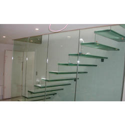 Stairs Toughened Glass