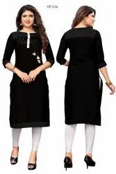 Formal Wear Slab Cotton Kurti