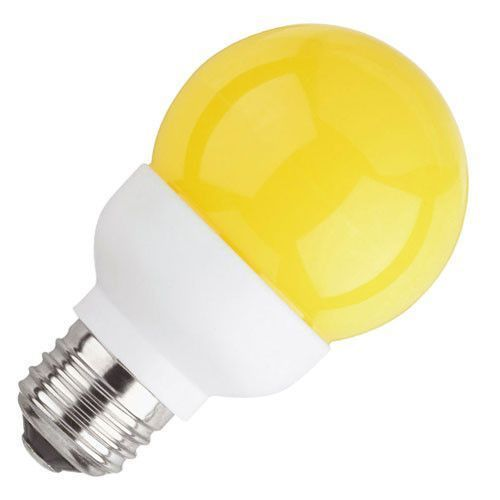 Yellow Electric Led Bulb 1w 1 Watt Biroba Impex Id