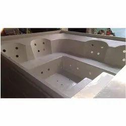 Fiberglass Jacuzzi Bathtub