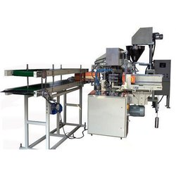 22 Station Lined Carton Packing Machine With Servo Auger