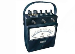 Analog Portable Watt Meter
