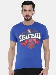 Blue Printed Basketball Dress