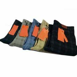 Mens Partywear Check Trouser