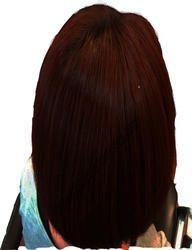 Greenish Brown Dark Brown Henna Based Hair Color