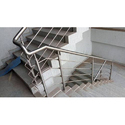 Stainless Steel Round Staircase, Length: 5-10 Feet