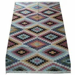Planet Arts Multicolor Cotton Rug, Size: 4x6 Feet