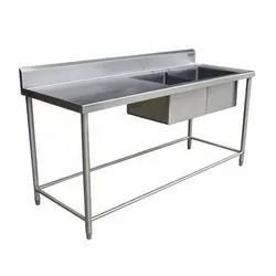 Stainless Steel Food Prep Table Sink