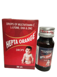 Drops Of Multivitamin C, L-Lysine, DHA & Zinc Drop
