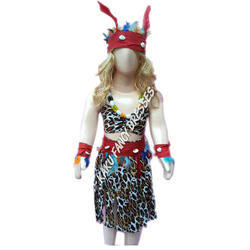 Kids Tribal Girl Costume