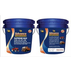 Advance Lubricants 20W40 Supreme Max Diesel Engine Oil, Packaging Type: Bucket, Unit Pack Size: 20 Ltr