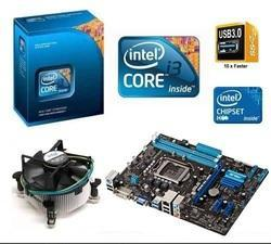 Intel Core i3 (1st Gen) CPU with Fan Praxis H55, Combo, 3 Yrs warranty
