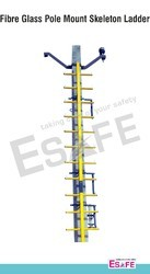 FRP Pole Mount Skeleton Ladder