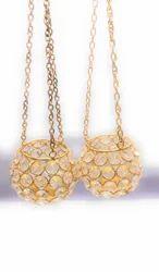 AuraDecor Crystal Hanging Tealight Holder