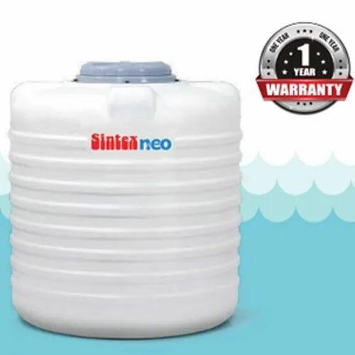 Plastic Sintex Neo Water Tank White Rs 4 25 Liter Gaurav Sales Id 19986837412