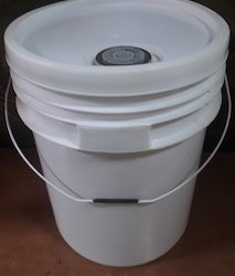 20 Ltr Plastic Bucket For Ink With Spout