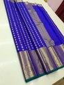 Exclusive Designer Kanchipuram Handwoven Bridal Wear Saree
