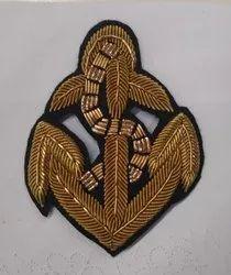 High Level Net Hand Embroidery Zardozi Work