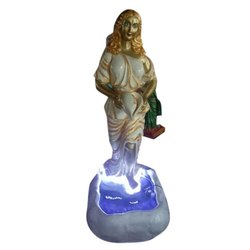 Fiberglass Fountain Statue, For Promotional Use, Size/Dimension: 1-2 Feet