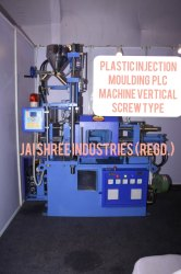 Plastic Injection Molding PLC Machine Vertical Screw Type (Super Toggle) Fully Auto