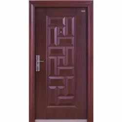 Laminated Readymade Steel Door, Thickness: 50 to 70mm