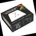 Voice activated Security Socket Ultra Small Size DVR Hidden Spy Camera Video Recorder