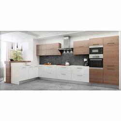 MDF Modular Kitchen;Thickness 19 mm