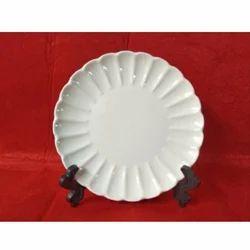Round W C Plate