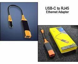 USB 3 1 Type C To RJ45 3 Port USB