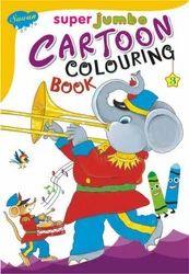 Super Jumbo Cartoon Colouring Book 3