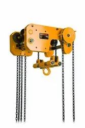 Low Headroom Trolley Hoist