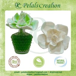 White Sola Wood Flower For Decoration, One