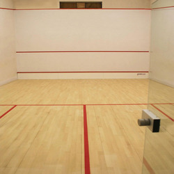 Wooden Squash Court Flooring Service