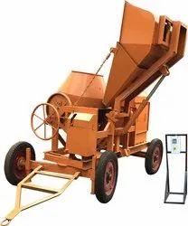 10/7 CFT Digital Hopper Concrete Mixer