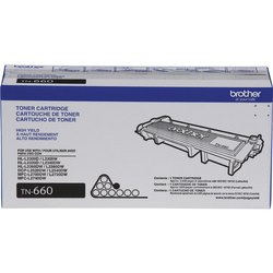 Brother TN660 High Yield Black Toner Cartridge