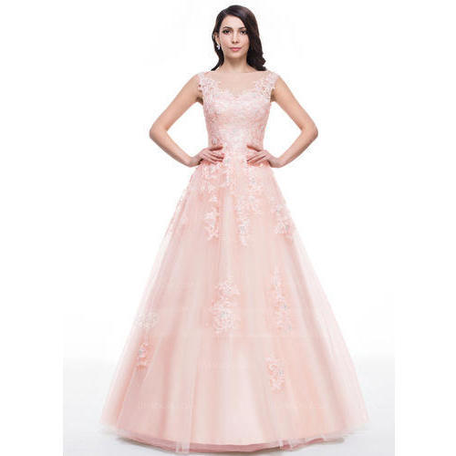 037237c07e4e Small And Medium Embroidery Ladies Ball Gown