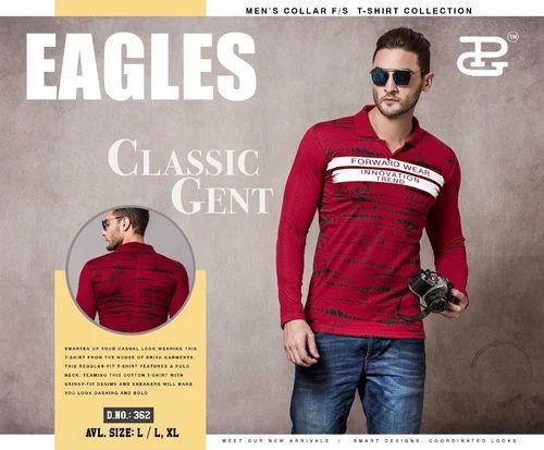 2098ec6f86a Mens Polo T Shirts - Collar Neck T Shirt Manufacturer from Surat