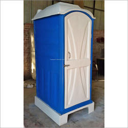 Single Skin Portable Toilet Cabin