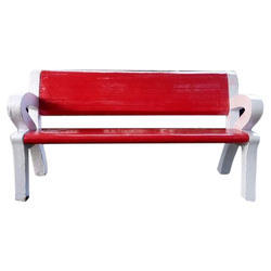 RCC Garden Bench With Hand Rest