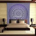 Ombre Mandala Wall Tapestry