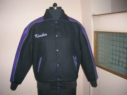 Black caliber india Woolen Jacket